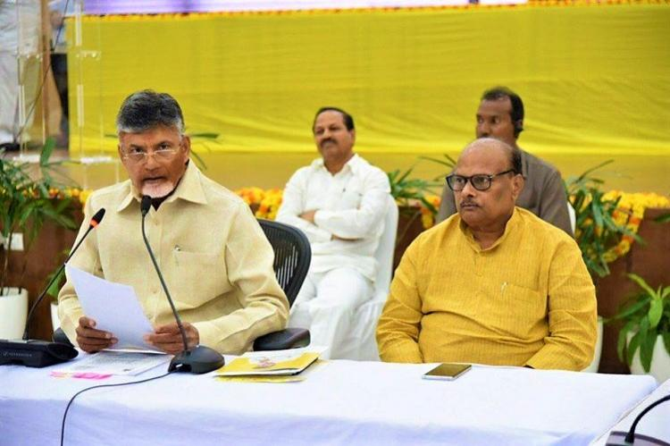 If Jagans YSRCP wins KCR rules the state says Andhra CM Naidu