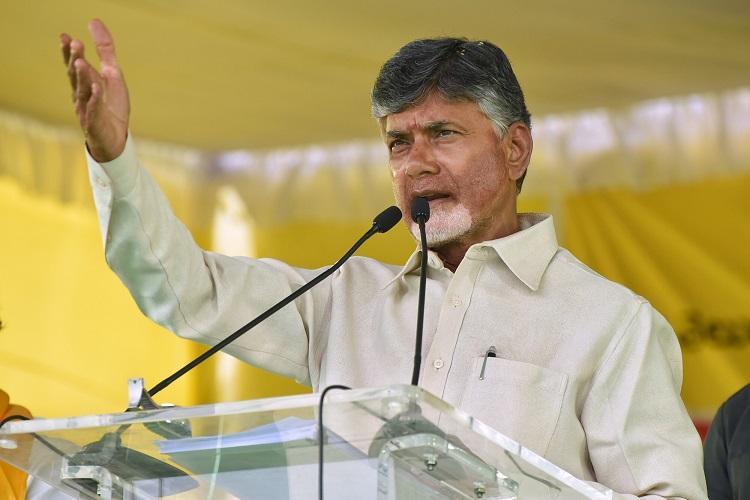 Narendra Modi is like a dreaded terrorist says Andhra CM Naidu