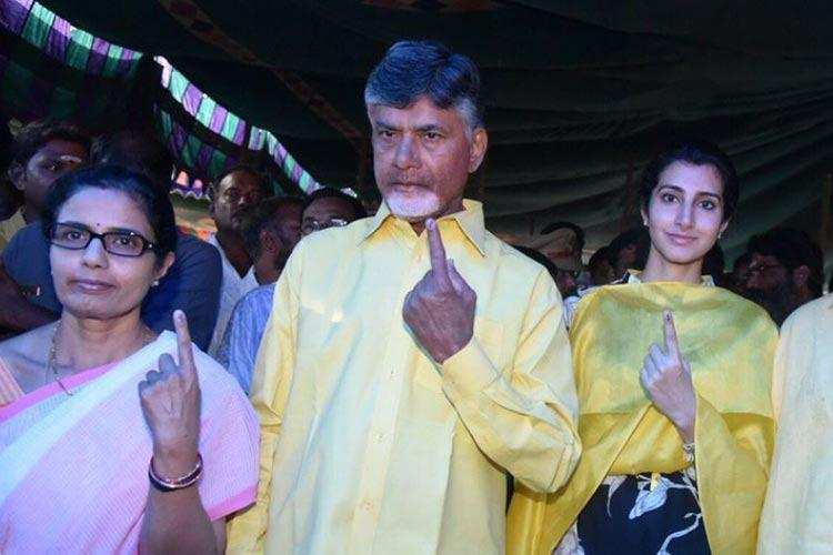AP CM Naidu wants repoll in some booths writes to Election Commission