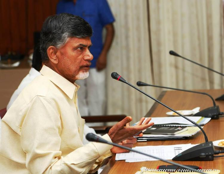 Under fire for alleged involvement in call money racket Naidu announces special courts