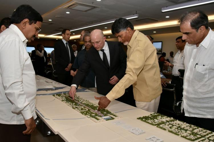 An Amaravati of the future Unmanned electric buses to ply in Andhra capital