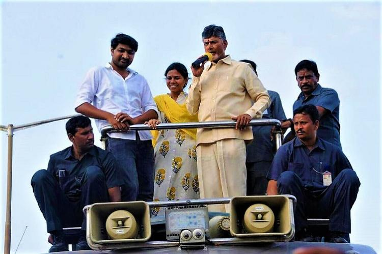 Nandyal bye-poll: Andhra CM Naidu lashes out at Jagan, asks for vote against corruption. ""