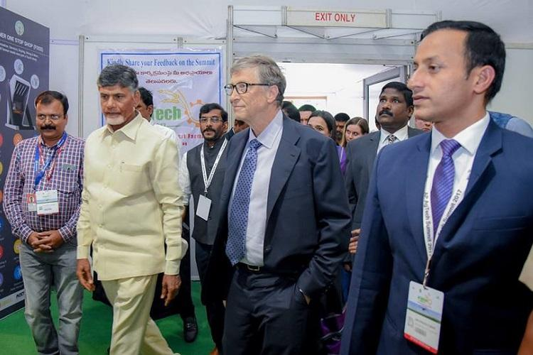 Rajnath urges Bill Gates to focus on village uplift