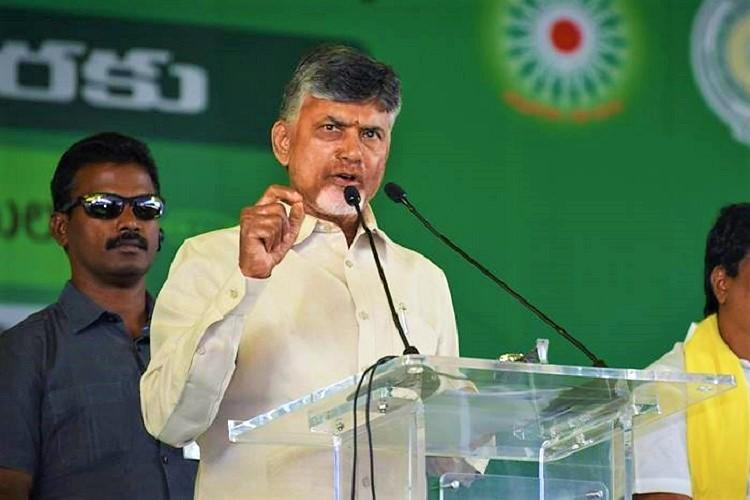 Smartphone for every family Andhra CM Naidu promises 14 million mobiles