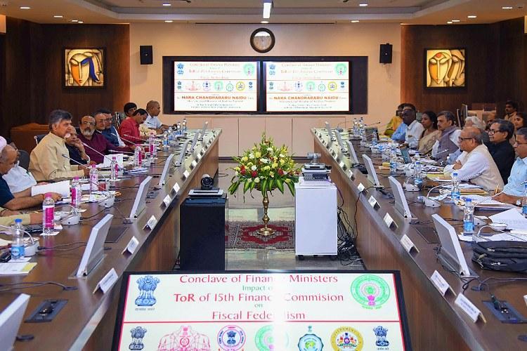 South India Finance Ministers meet Prez Kovind urged to intervene reframe ToR