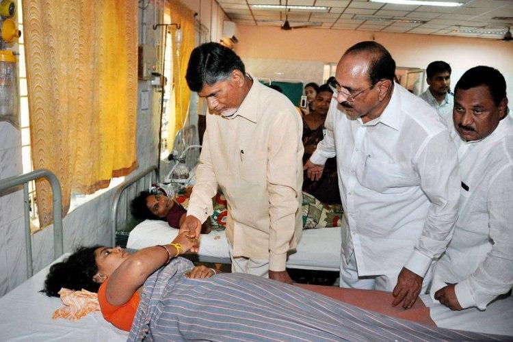 Andhras Pushkar Ghat stampede Commission report absolves CM Naidu blames media