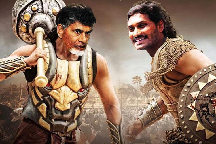 Baahubali Jagan will defeat Bhallaladeva Naidu in next election Andhra MLA Roja