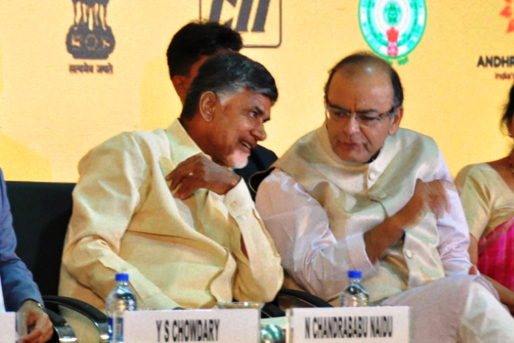 FM Jaitley keeps promise Land for Andhras capital Amaravati exempt from capital gains tax