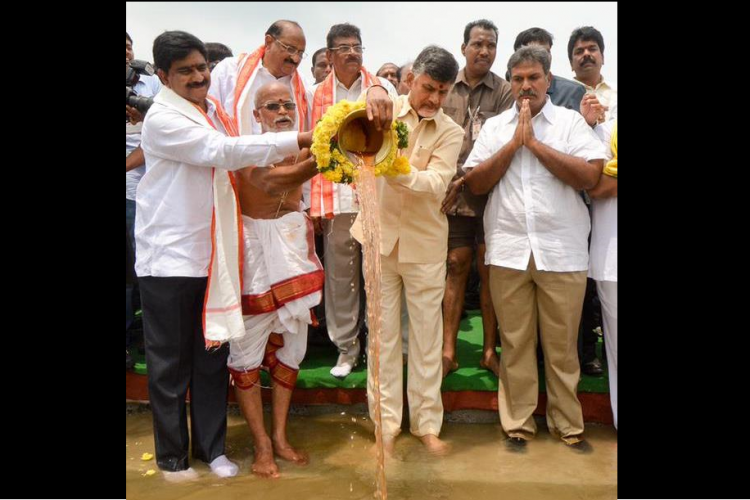 Andhra Pradeshs Pattiseema project becomes south Indias first river link