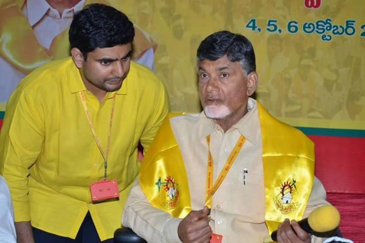 TDP urges Naidus son Nara Lokesh to contest for MLC seat Oppn calls it shortcut