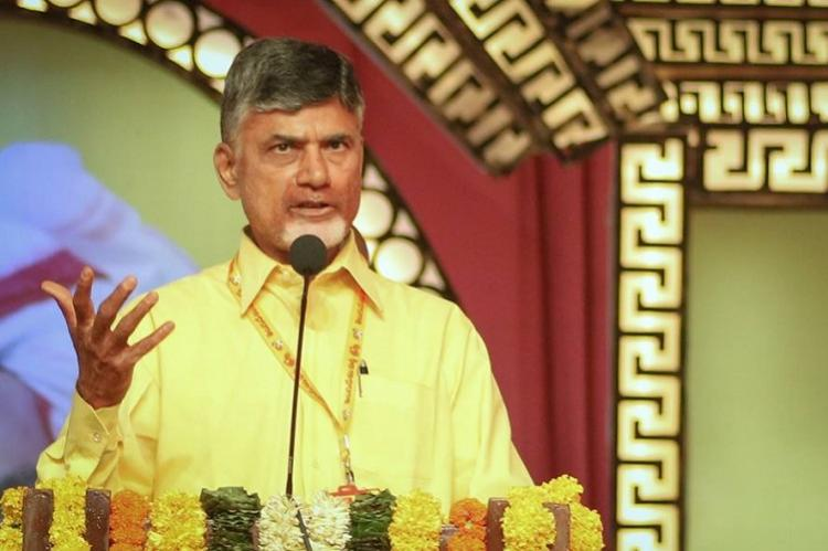 Not right for Opposition to field Presidential candidate Kovind will win Andhra CM Naidu