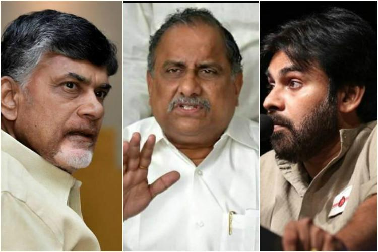 Andhra House of Cards The political triangle between TDP BJP and Kapu Padmanabham