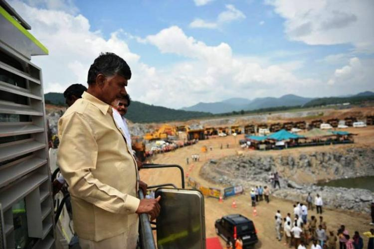 Willing to go to the site myself Andhra CM Naidu urges officials to speed up Polavaram project