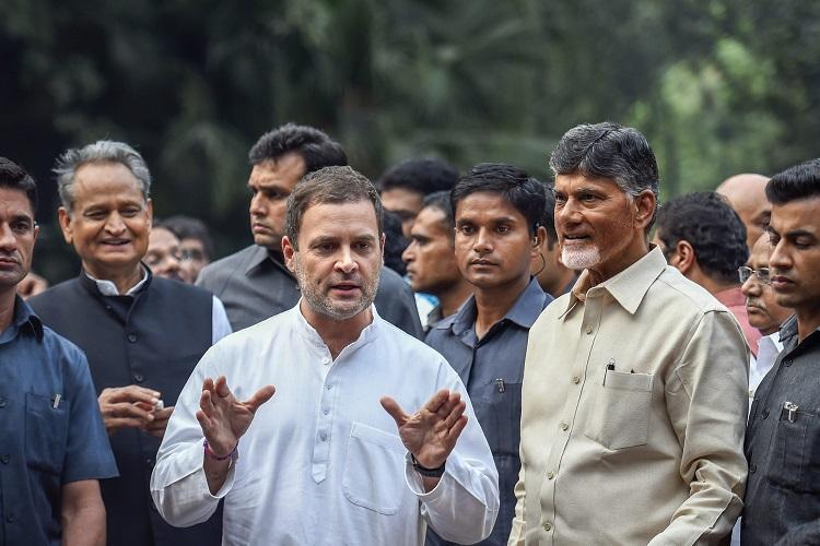 Andhra CM Naidu to meet leaders of anti-BJP front on Feb 26 in Delhi