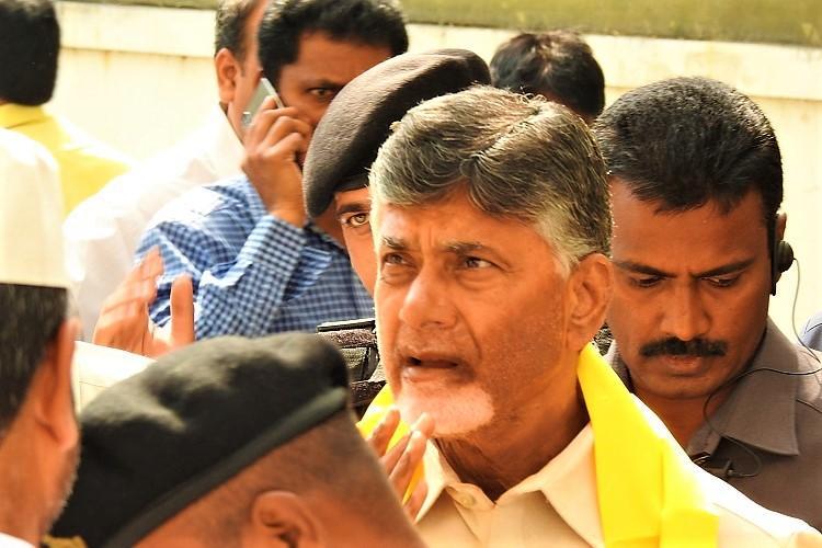 Andhra CM Naidu takes stock ahead of Telangana polls discusses grand alliance
