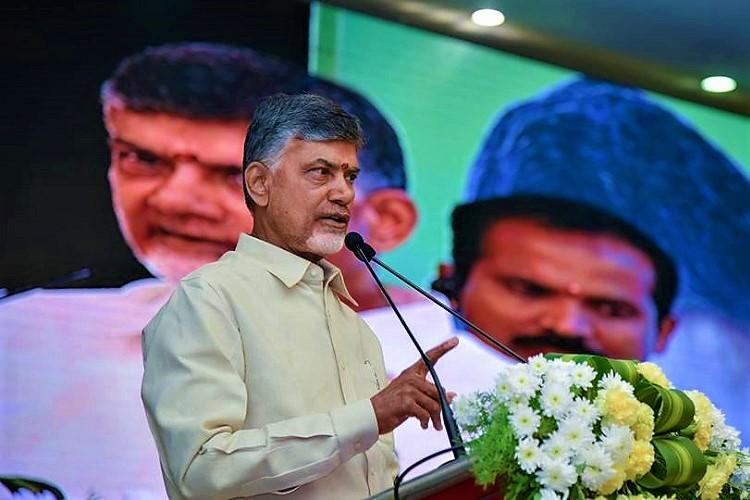 Andhra CM Naidu says demonic forces creating obstacles for Polavaram project and Amaravati