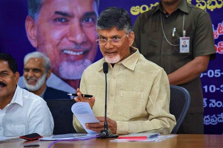 Regional leaders should head Federal Front says Andhra CM Naidu
