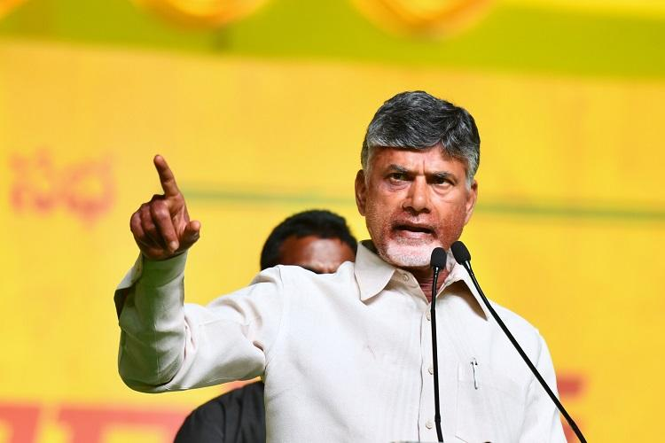 Modi a chowkidar of criminals anyone better PM than him Andhra CM Naidu