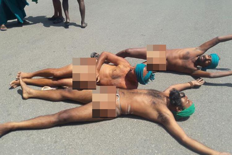 Tamil Nadu farmers run naked near PMs office ask why Modi refused to meet them