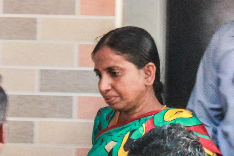 A file image of Nalini Sriharan the convict in the Rajiv Gandhi assassination case