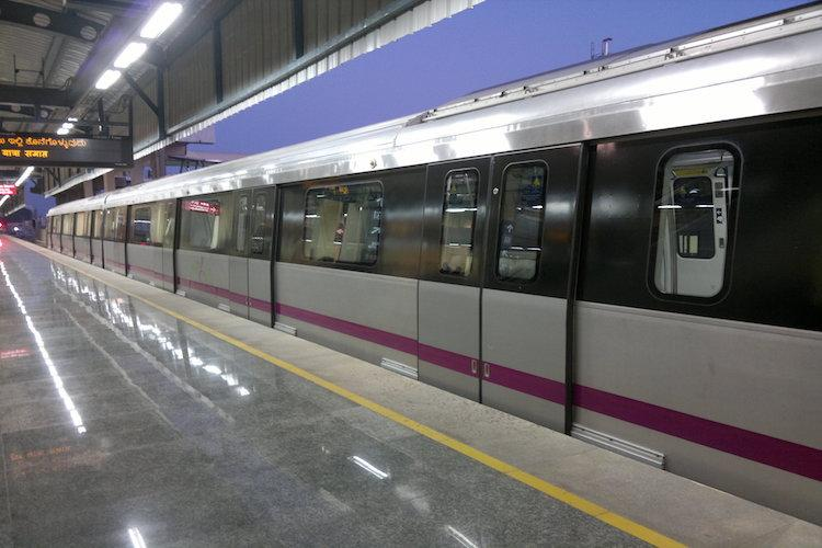 Bengalurus Namma Metro gets three additional coaches to be added to purple line