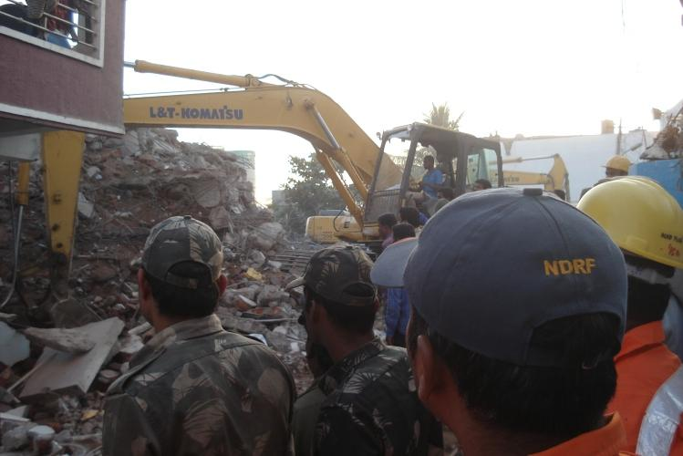 Former GHMC tax inspector among two arrested for Hyderabad building collapse
