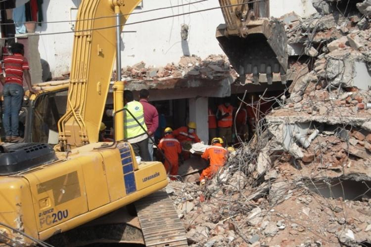 Hyderabad building collapse 11 dead as authorities remove debris after 36-hour operation