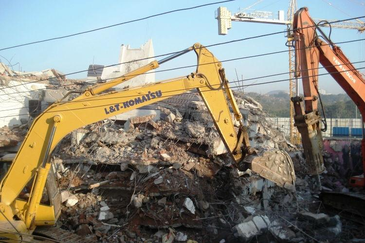 Hyderabad building collapse Owner and contractor among four arrested