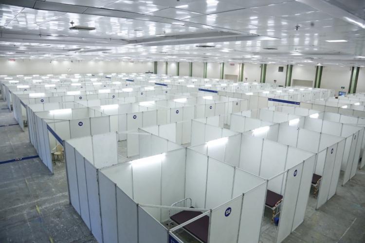 Nandambakkam Quarantine Facility empty in Chennai