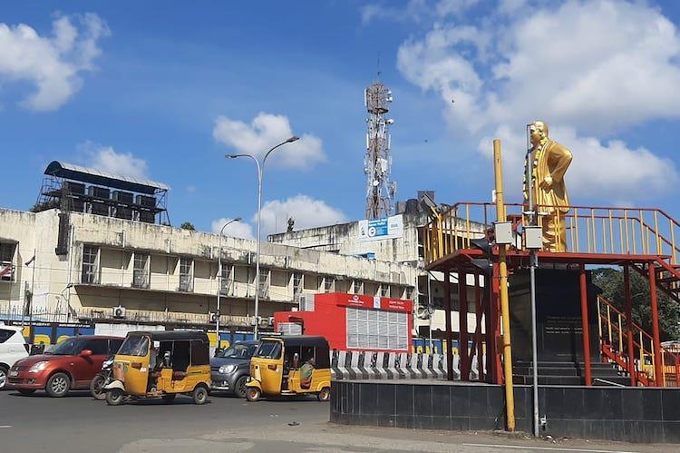 Chennais Nandanam signal to close four-way traffic for a week