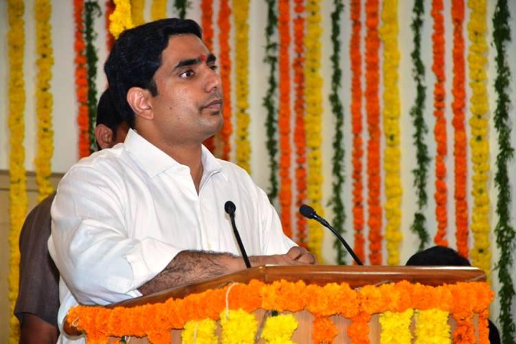 Naidu expands Cabinet, inducts son Nara Lokesh