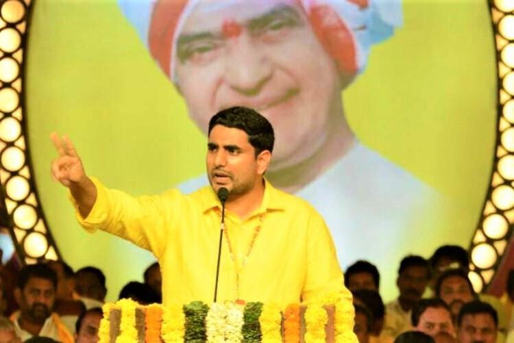 Nara Lokesh lashes out at BJP on Twitter Narasimha Rao hits back