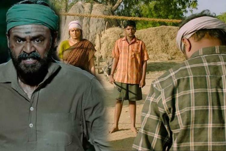 Stills from the Daggubati Venkatesh starred Narappa movie