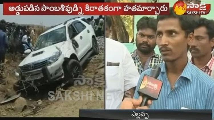 Narayana Reddy murder Driver of YSRC leader recounts horrific event
