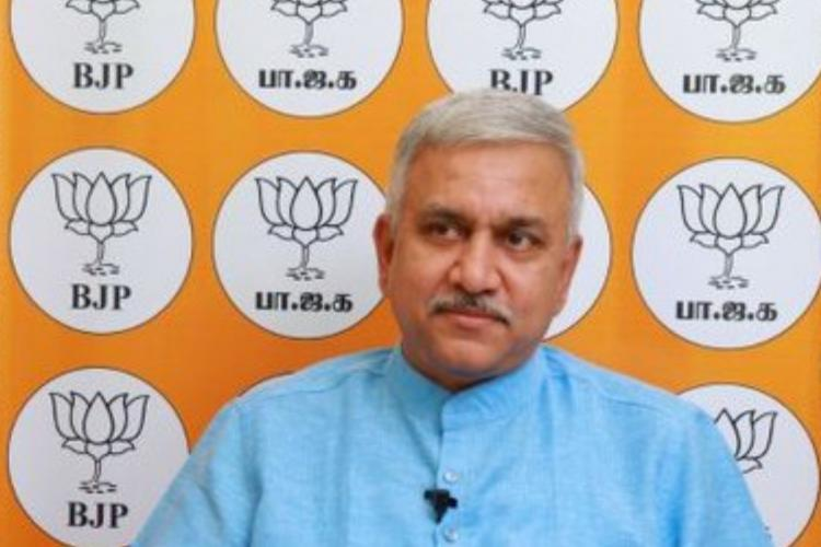 BJP spokesperson Narayanan Thirupathy