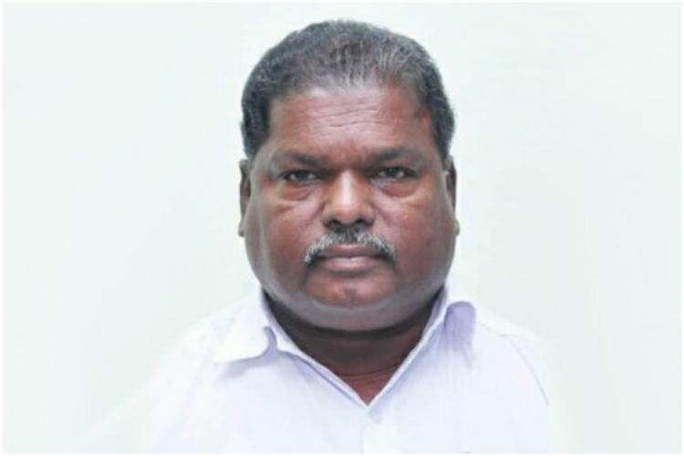 Kerala CPIM leader M Narayanans pic in a white background