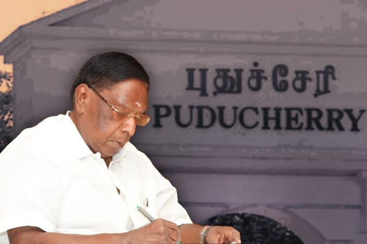 V narayanasamy Chief Minister of Puducherry