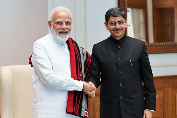 Narendra Modi, RN Ravi