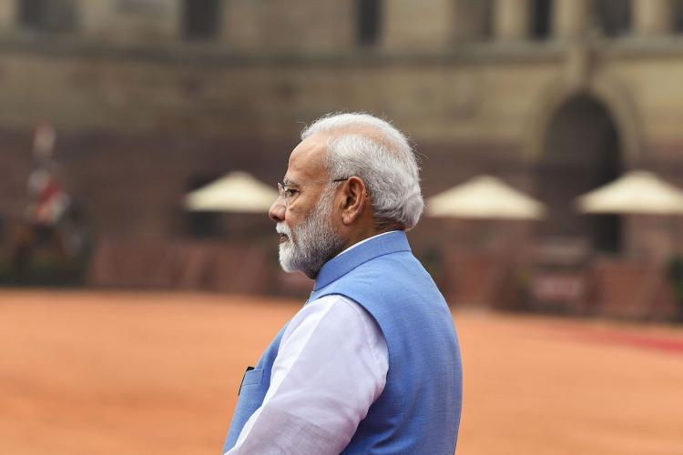 File image of Prime Minister Narendra Modi in New Delhi