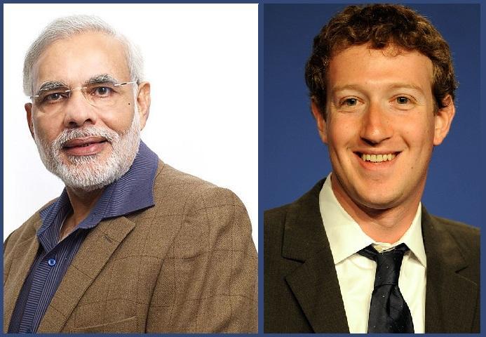 Facebook CEO Mark Zuckerberg invites Modi to US