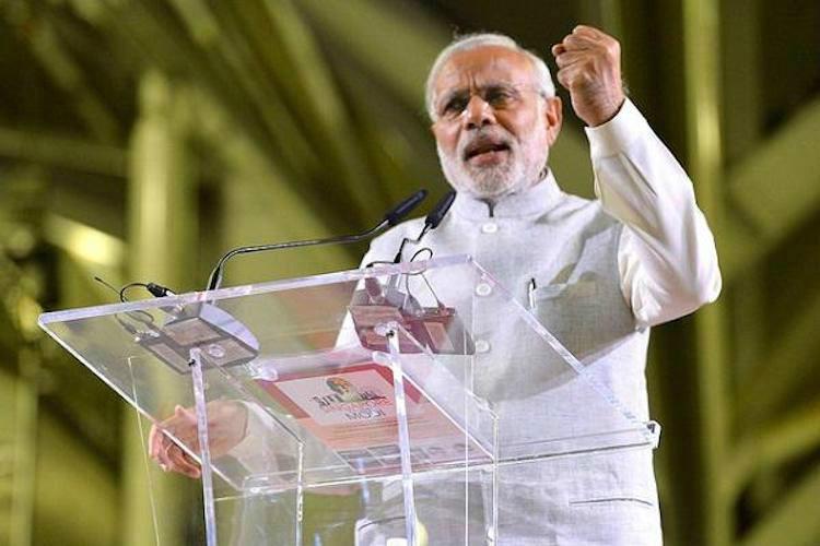 BJPs ad in poll-bound Karnataka contradicts Modis dont politicise rape statement