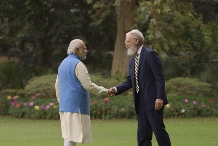 PM Narendra Modi to talk climate change with American TV host David Letterman