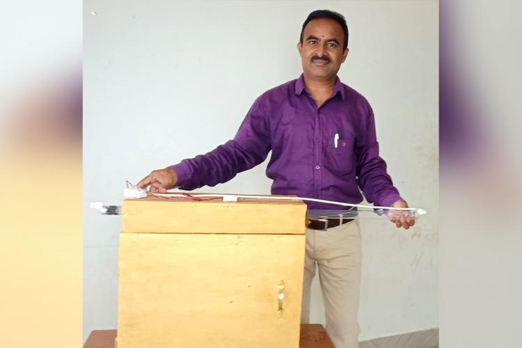 Narsimha and his UV Box