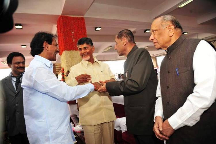 Andhra and Telangana continue talks on post-bifurcation issues governor holds meeting