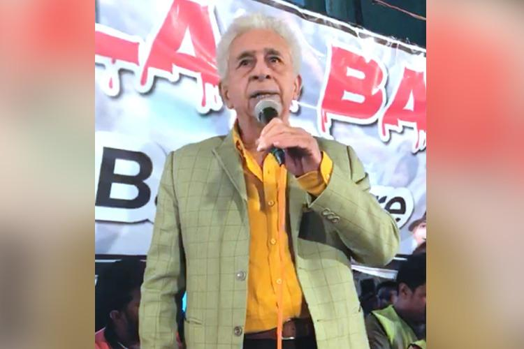 Women have given me the courage to speak up Naseeruddin Shah at Bengaluru protest