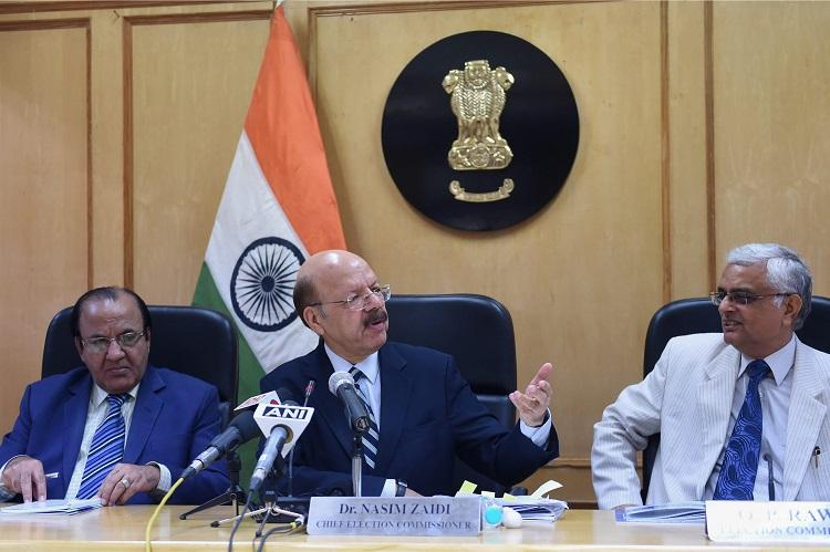 Compulsory voting regime not feasible in India Nasim Zaidi