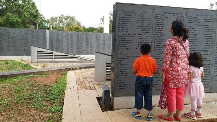Deeply hurt Army kids write to HDK over unfinished Bengaluru war memorial