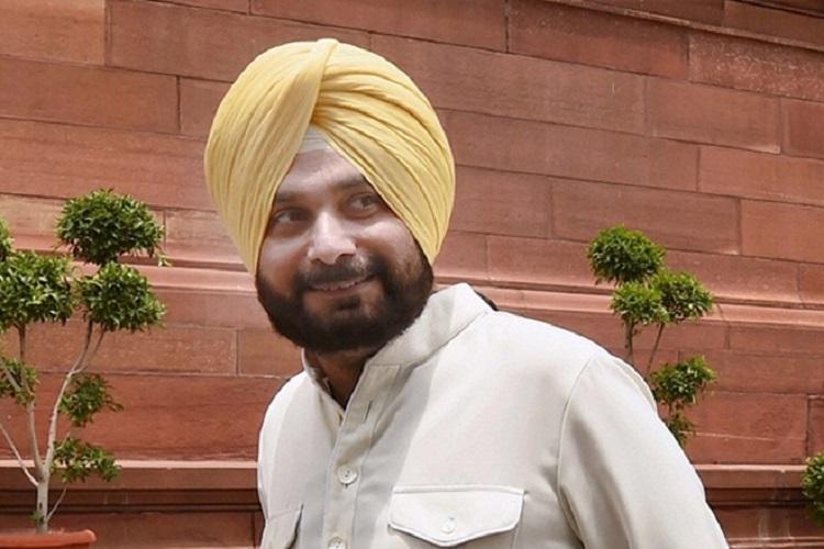 Former BJP man Sidhu joins Congress just days ahead of Punjab polls