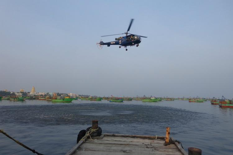 Cyclone Gaja Indian Navy joins relief operations in affected areas