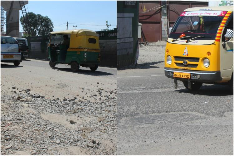 Killer pothole that claimed Bengaluru womans life opens up again days after it was patched up